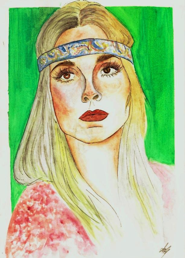 Sharon Tate por AnaPisichiuta